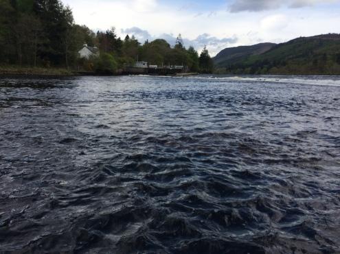 Looking across Weir Pool