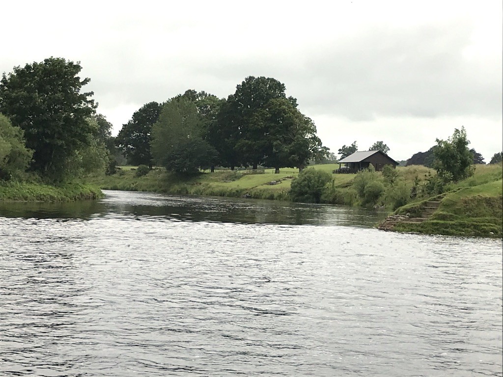 The Junction Pool on the mighty River Tweed